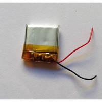 Аккумулятор литий-полимерный 3.7V 100mAh 4*20*20мм
