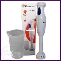 Ручной погружной блендер Domotec DT572 с чашей.
