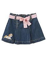 Детская джинсовая юбка.  12-18 месяцев
