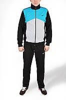 Мужской спортивный костюм nike. Ровные брюки.