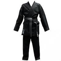 Кимоно карате Matsa черное р-р 150