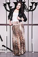 Женская юбка Леопард