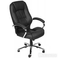 Кресло для руководителя Надир НВ, кожзам черный (GRAND 710 PU BLACK)