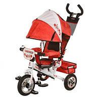 Детский трехколесный велосипед Turbo Trike М 5361-02UKR надувные колеса