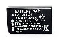 Аккумулятор EN-EL20 (аналог) для фотоаппаратов NIKON 1 J1, J2, J3, CoolPix A