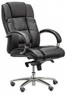 Кресло для руководителя Монако НВ New кожзам черный (TB-8771 ALUM PU BLACK)