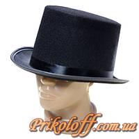 "Шляпа ""Цилиндр"", фетр"