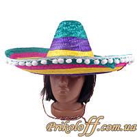 """Сомбреро """"Яркий мексиканец"""""""