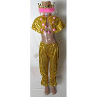 """Детский костюм """"Восточная принцесса"""", золото"""