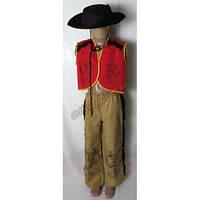 """Детский костюм """"Ковбой в черной шляпе"""" (был в прокате)"""