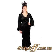"""Женский костюм """"Черная Принцесса"""", было в прокате"""