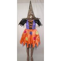 """Детский костюм """"Ведьмочка"""", разноцветная (был в прокате)"""