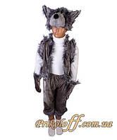 """Детский костюм """"Серый волк"""", бархат"""