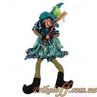 """Статуэтка """"Баба Яга"""", поет и танцует"""