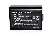 Аккумулятор для фотоаппаратов CANON 1100D, 1200D, 1300D - LP-E10  (аналог)