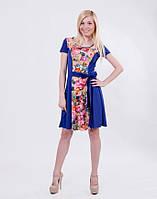 Платье летнее женское синее, фото 1