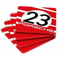 Подставки для стаканов Porsche 917 Glass Coasters