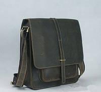 Стильная сумка. Мужская кожаная сумка. Офисная сумка. Сумка на плечо. Код: КСД39-1.