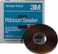 3M™ 08612 Ленточный герметик для вклеивания лобового стекла, шир. 9,5 мм, дл. 4,6 м