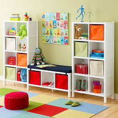 Nursery shelving ideas