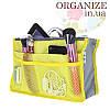 Органайзер для сумки Bag in Bag (желтый)