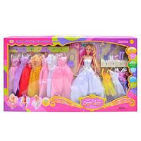 """Кукла типа барби в наборе фирмы """"DEFA"""" 8027"""
