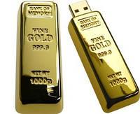 USB-флешка Золотой слиток 4 Гб.