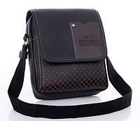 Мужская кожаная сумка. Офисный портфель. Недорогая сумка. Качественная сумка. Код: КСД41.