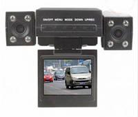 Автомобильный Видеорегистратор 2 камеры HD 2.0inch NV001 Night Vision