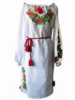 Платье Дубовая роща (Платья с вышивкой в украинском стиле)