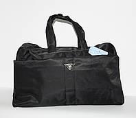 Дорожная, спортивная сумка Prada milano 3259 текстиль, ручная кладь
