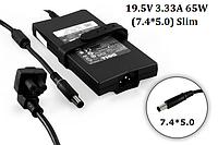 Блок питания для ноутбука Dell 19.5V 3.34A 65W 7.4х5.0mm PA-2E Slim