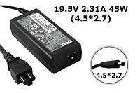 Зарядное устройство сетевой адаптер для ноутбука Dell 19.5V 2.31A 45W 4.5*2.7 Dell XPS 12 9Q23 Dell XPS 12