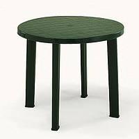 Пластиковый стол «Tondo», зеленый