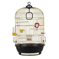 Ferplast DIVA Золотая Круглая клетка для мелких птиц