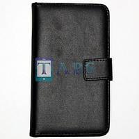 Чехол-книжка кожаный LG G3 D850 D855 черный