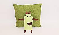 Подушка-игрушка Собачка 40х40 см. Разные цвета!