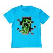 Футболка детская с принтом Minecraft Creeper