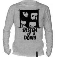 Футболка с длинным рукавом с принтом System of a Down
