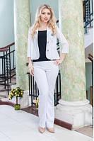 Женский летний костюм 2033 Белый