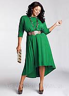 Оригинальное трикотажное платье от производителя большого размера