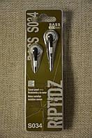 Недорогие качественные Наушники HiFi MP3 S034. Хороший звук.