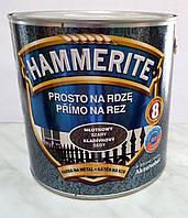 Краска для металла с молотковым  эффектом Prosto na Rdze Primo Na Rez Hammerite  2,5 л