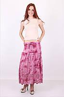 Яркая юбка  модного кроя от производителя на лето