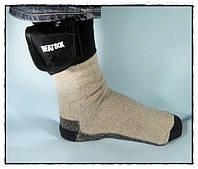 Электро носки с подогревом на батарейках Grabber