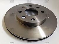 Диски тормозные передние вентилируемые на (R13) Daewoo Lanos 1.4, 1.5, Chevrolet Lanos 1.4, 1.5. Пр-во Brembo.