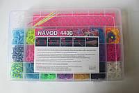 Набор для плетения браслетов из 4400 резиночек Loom Bands