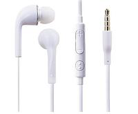 Наушники для мобильного телефона Samsung вакуумные с микрофоном white