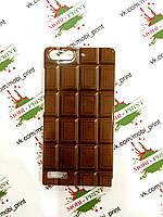 Чехол для Huawei Ascend G6-U10 (Плитка шоколада)