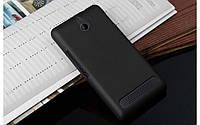 Чехол накладка бампер для Sony Xperia E1 D2005 / D2105 Dual чёрный
